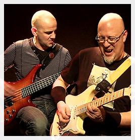 ivan rougny christophe godin  artiste les guitares du coeur
